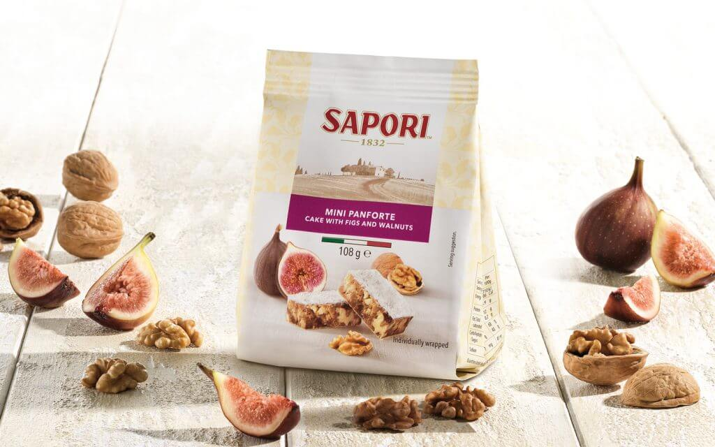 Mini Panforte with figs and walnuts - Sapori 1832